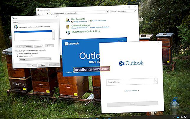 Outlooki profiili registri kustutamine