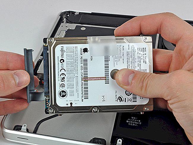 Kuidas fotosid MacBooki kõvakettalt välisele kõvakettale teisaldada