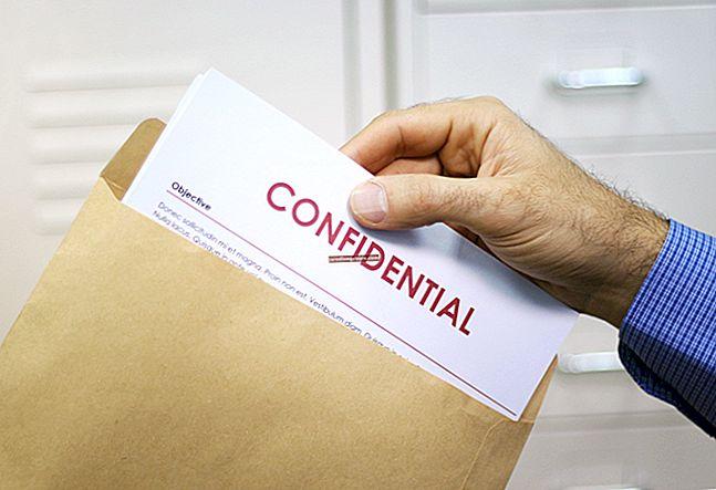 Töötajate tagajärjed konfidentsiaalsuse rikkumisele