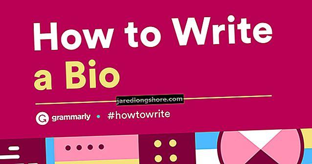 Kuidas kirjutada enda kohta lühike elulugu