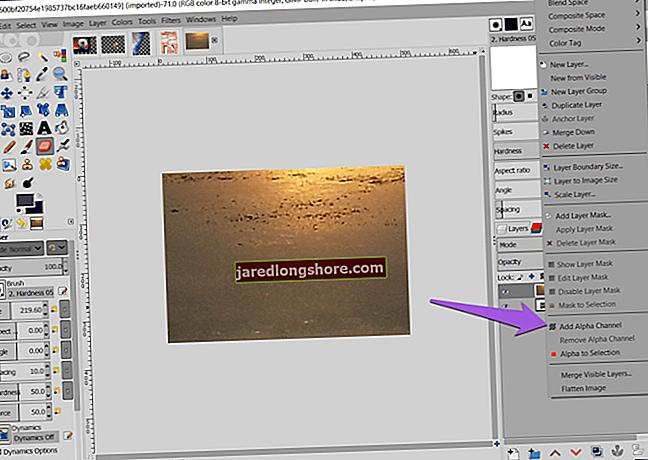 Kuidas töötada GIMPis olevate tekstide ja radadega