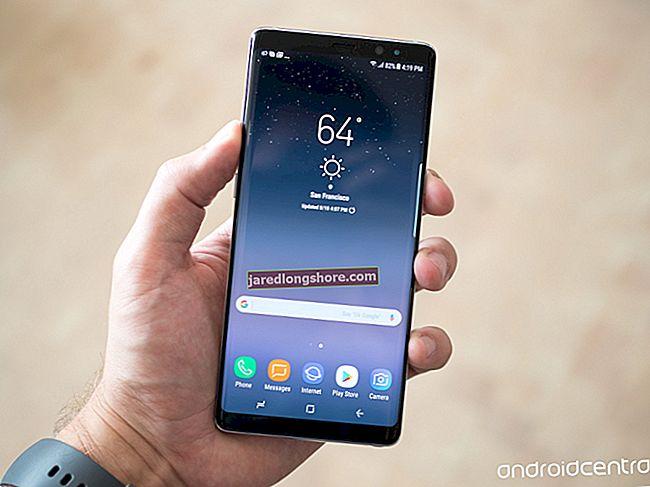 Kuidas teha ekraanipilti tahvelarvutis Galaxy Note 8
