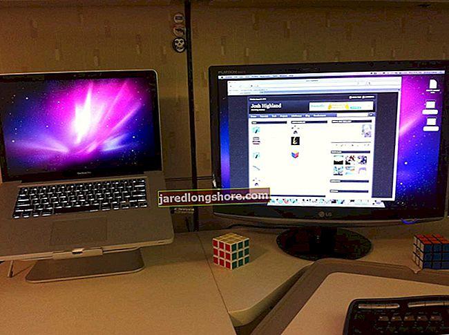 A MacBook csatlakoztatása elsődleges asztali kijelzőhöz