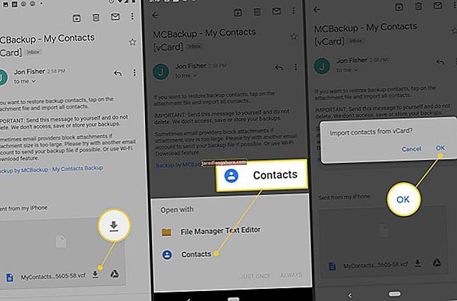Importálhatom a kapcsolataimat az Outlookból az Androidba?