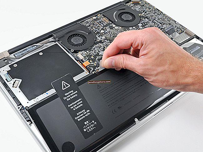 Az ujjlenyomatok eltávolítása MacBook Pro-ból