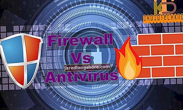 Aparatinės įrangos ugniasienės ir programinės įrangos ugniasienės skirtumas