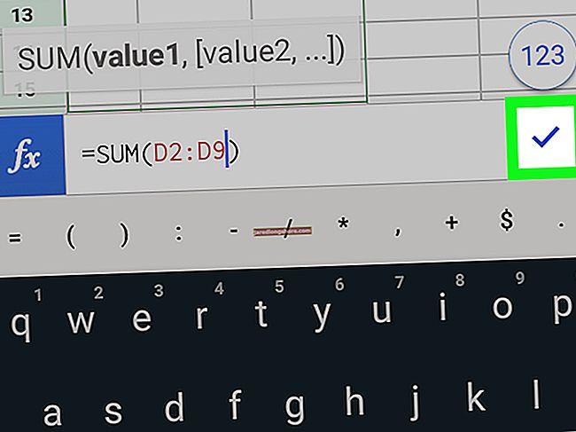 """Keisti stulpelio dydį """"Google"""" skaičiuoklėse"""