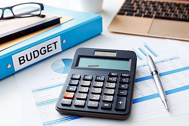 Kas yra išlaidų biudžetas?