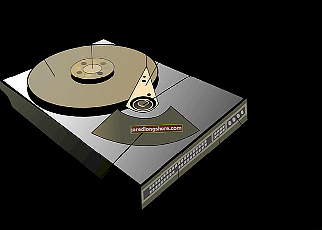 Čtyři hlavní součásti pevného disku