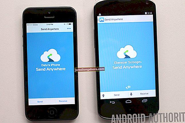 Kuidas saata faile Androidist iPhone'i ja vastupidi