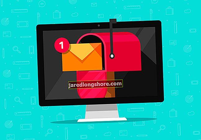 Hvordan avbryte videresending av e-post