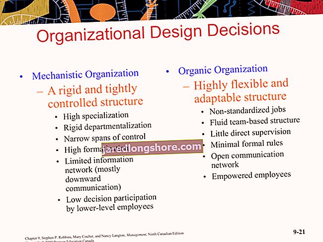 Organisk struktur av organisasjonsdesign