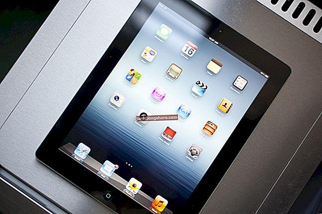 Skjermoppløsningen til Apple iPad