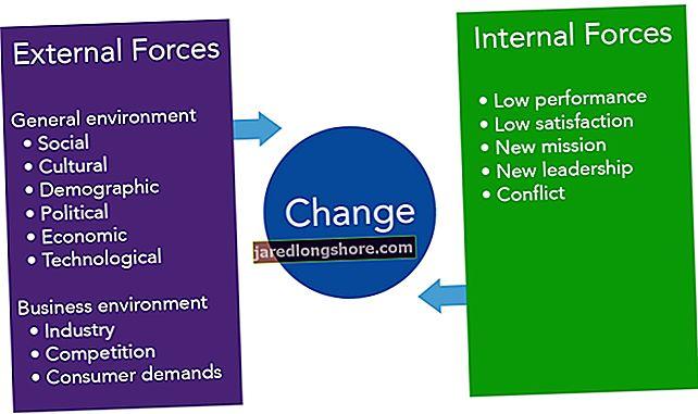 Vidiniai ir išoriniai veiksniai, darantys įtaką organizacijai
