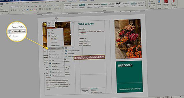 Jak si vyrobit 3stránkový pamflet v aplikaci Microsoft Word