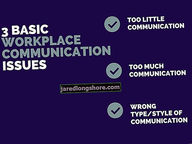 Παραδείγματα προβλημάτων επικοινωνίας στο χώρο εργασίας